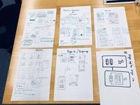 App sketches