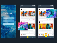 Art Zone - Application for Artist