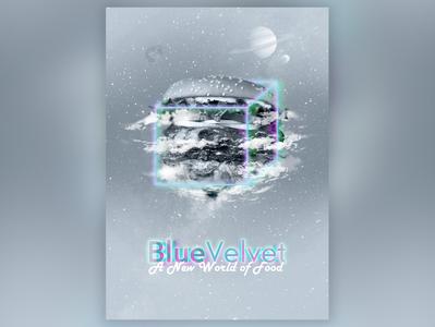 Blue Velvet app Poster Design