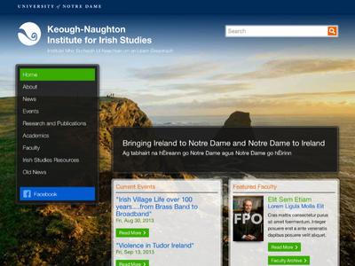 Keogh-Naughton Institute for Irish Studies