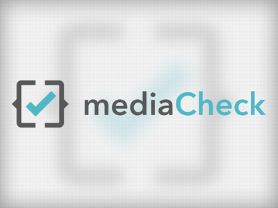 mediaCheck logo open source