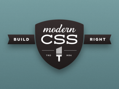 Modern CSS workshop logo