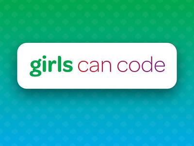 Girls Can Code website logo