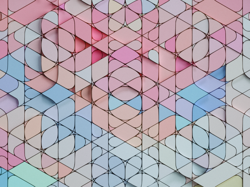 geosym~ abstract pattern geomtric design c4d 3d
