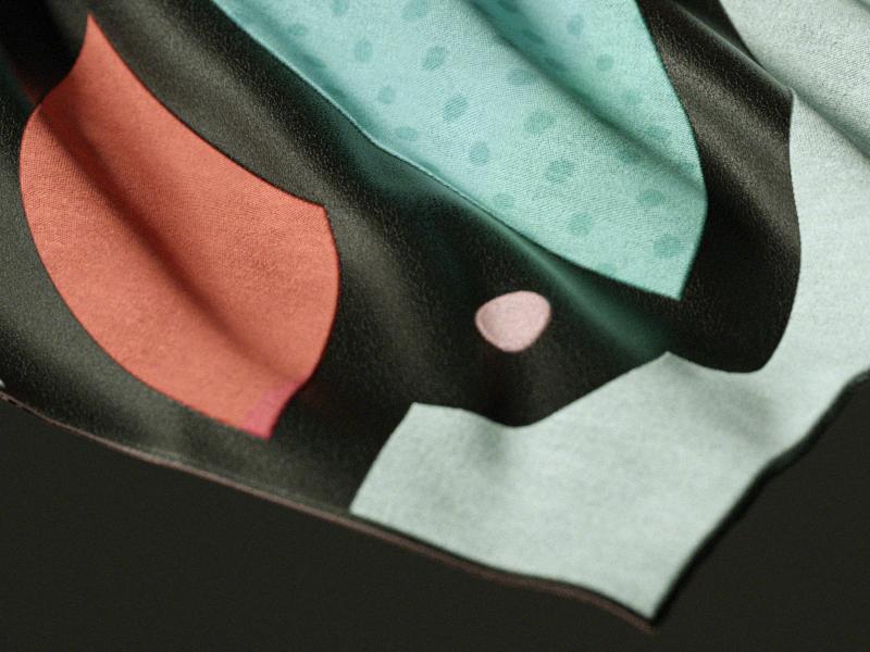 fabric~ 3d textile cloth fabric leather design c4d