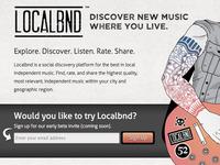 Localbnd Screen