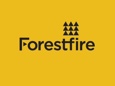 Flash Challenge: Forestfire icon branding design type vector logo