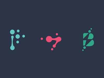"""Bubble"" logos design illustration icon branding vector logo"