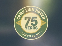 Camp Linn Haven Anniversary Logo
