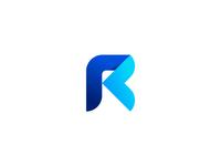 Letter R r money business finance typography letter mark identity logodesign logo