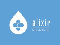 Alixir Brand Identity Logo