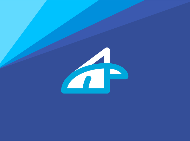Arctic 2022.  Pure fresh wind of change icon design illustration typography logo
