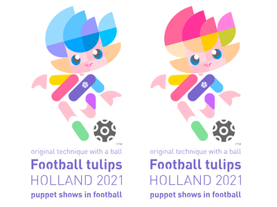 puppet shows in football icon illustration design typography logo