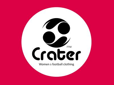 Women s football clothing icon illustration design typography logo