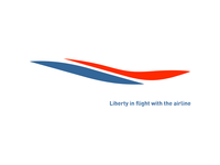Liberty In Flight With The Airline