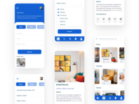 Rent app UI mobile design mobile ui rental app appdesign ux app 2020 ui design