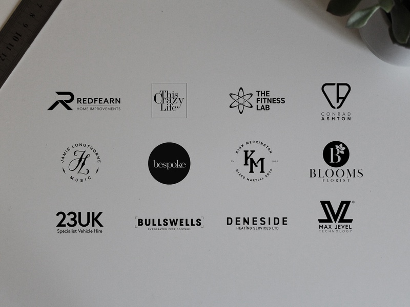 Handful of logos branding logodesigner logodesign logo