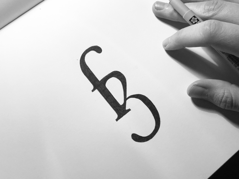 Floor 3 Ballet Studio - Logo Sketch