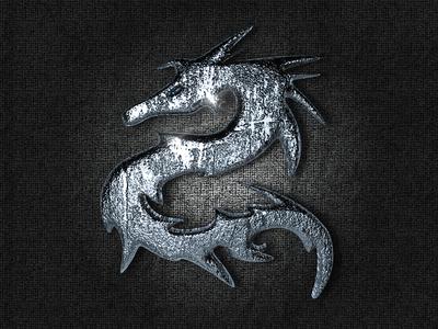 3D Dragon Logo