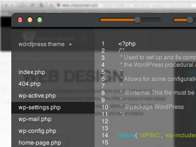 Coding App with opacity control code app ui opacity