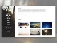 Strike - Free Portfolio Theme - One Page Responsive Theme.