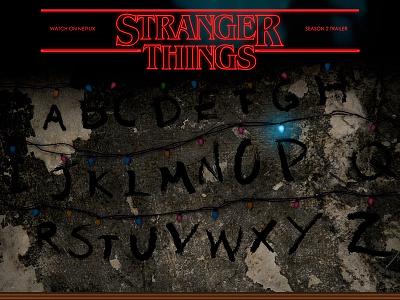 Stranger Things Landing Page landing page coding ui stranger things web
