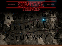 Stranger Things Landing Page