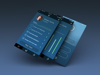 Entrepreneurs Productivity Mobile App User Interface