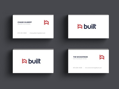 Built business cards by dylan mullins dribbble built business cards colourmoves