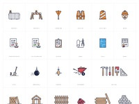 Construction icons  proofs