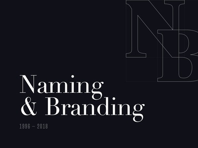 20+ Years of Names and Brands