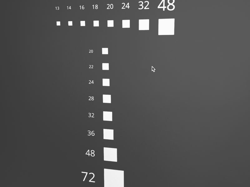Typographic scale design ui sizing magic rhythm scale typography