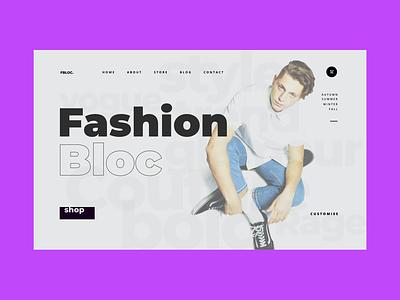 Fashion e-commerce store e-commerce beauty fashion design