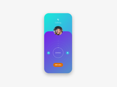 Call me ux design mobile app design mobile app ui