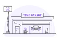 Turo Garage Illustration