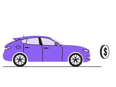 Super Maserati Kart motion car animation