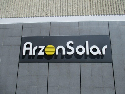 ArzonSolar - AA Graphics - Graphic Design Portfolio sign design graphic design