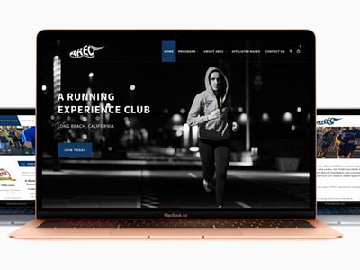 Arec Website Display - AA Graphics - Website Design Portofolio website graphic design website design
