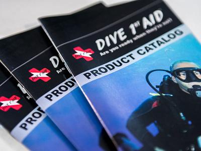 Dive 1st Aid - AA Graphics - Brochure Design design brochure design