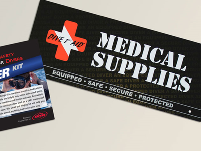 Dive 1st Aid Business Card - AA Graphics - Business Cards design business card graphic designer graphic design business cards