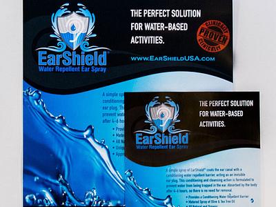 Earshield graphics flyer - AA Graphics - Flyer Design brochure design design graphic design flyer design