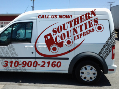 Southern Counties - AA Graphics - Car Wrap Design