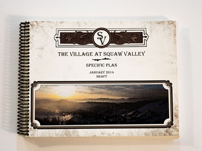 The Village at Squaw Valley - AA Graphics - Graphic Design design graphic designer