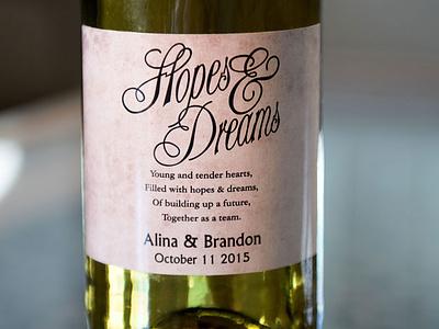 Wine Label Design - AA Graphics - Graphic Design Portfolio design label design