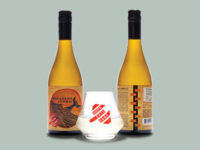 Dovetail Sake Label Design