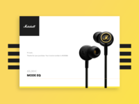 Daily UI Challenge #017 - Mail Receipt