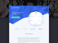 Icommunity Landing Page