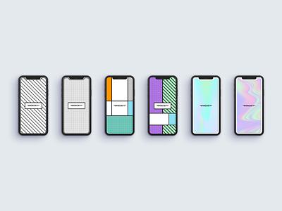 Splash Screen - Shoeciety clean interface color background iphone modern shoes splash app