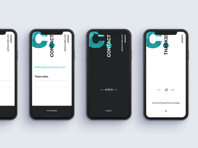 Daily UI Challenge #028 - Contact Us clean minimal form contactus contact unsplash app daily 100 challenge daily 028 dailyui daily ui