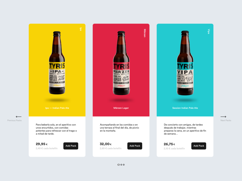 Daily UI Challenge #030 - Pricing daily ui challenge clean minimal beer pricing dailyui 030 daily ui